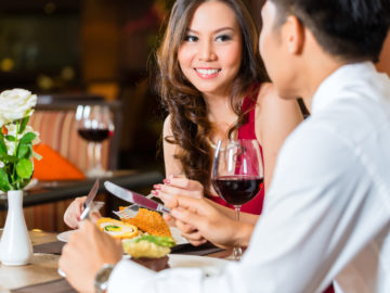 What to Look at When You're on a Date?